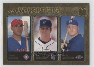 2001 Topps - [Base] - Gold #371 - Eric Munson, Bucky Jacobsen, Travis Hafner /2001