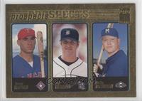 Eric Munson, Bucky Jacobsen, Travis Hafner #/2,001