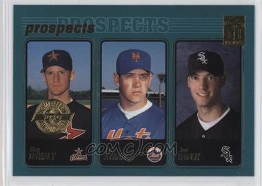 2001 Topps - [Base] - Home Team Advantage #727 - Roy Oswalt, Pat Strange, Jon Rauch