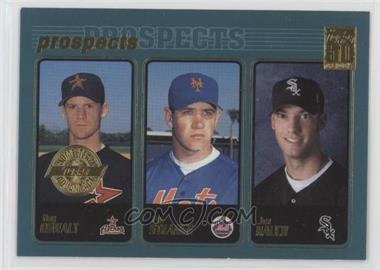 2001 Topps - [Base] - Home Team Advantage #727 - Roy Oswalt, Pat Strange, Jon Rauch [EXtoNM]