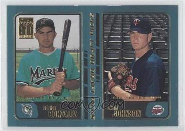 2001 Topps - [Base] - Limited Edition #352 - Adrian Gonzalez, Adam Johnson