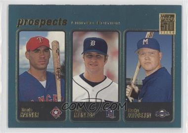 2001 Topps - [Base] - Limited Edition #371 - Travis Hafner, Bucky Jacobsen, Eric Munson