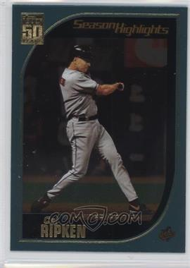 2001 Topps - [Base] - Limited Edition #387 - Cal Ripken Jr.