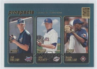 2001 Topps - [Base] - Limited Edition #728 - Darwin Cubillan, Phil Wilson, Jake Peavy