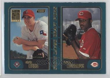 2001 Topps - [Base] - Limited Edition #744 - Bryan Edwards, Chris Russ