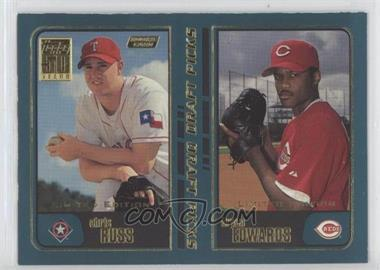 2001 Topps - [Base] - Limited Edition #744 - Bryan Edwards