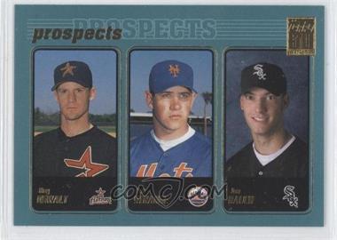 2001 Topps - [Base] #727 - Roy Oswalt, Pat Strange, Jon Rauch