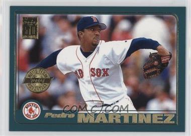 2001 Topps - Home Team Advantage #60 - Pedro Martinez