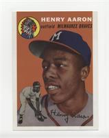 1954 Topps (Hank Aaron)/Original & Reprint Cards