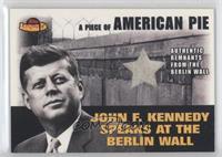 John F. Kennedy (Remnants from Berlin Wall)