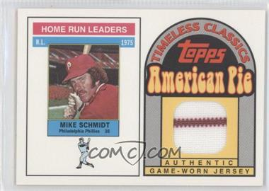 2001 Topps American Pie - Timeless Classics #BBTC-31 - Mike Schmidt