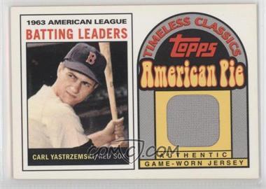 2001 Topps American Pie - Timeless Classics #BBTC-8 - Carl Yastrzemski