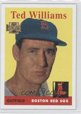 2001 Topps Archives - [Base] #120 - Ted Williams