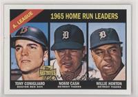 Norm Cash, Tony Conigliaro, Willie Horton [EX to NM]