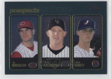 2001 Topps Chrome - [Base] #290 - Ty Howington, Josh Kalinowski, Josh Girdley