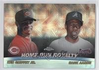 Home Run Royalty (Ken Griffey, Jr., Hank Aaron)