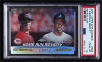 Ken Griffey Jr., Hank Aaron [PSA 10 GEM MT]