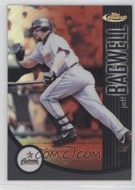 2001 Topps Finest - [Base] - Refractor #106 - Jeff Bagwell /499