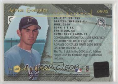 2001 Topps Gallery Baseballcardpediacom