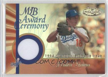 2001 Topps Gold Label - MLB Award Ceremony Relic #GLR-HN - Hideo Nomo