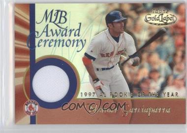 2001 Topps Gold Label - MLB Award Ceremony Relic #GLR-NG2 - Nomar Garciaparra
