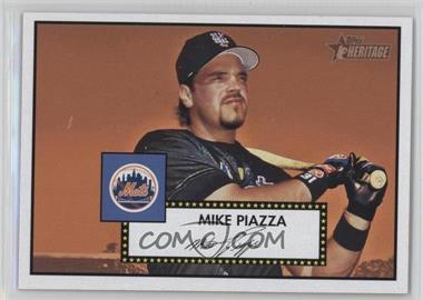 2001 Topps Heritage - [Base] #405 - Mike Piazza - Courtesy of COMC.com