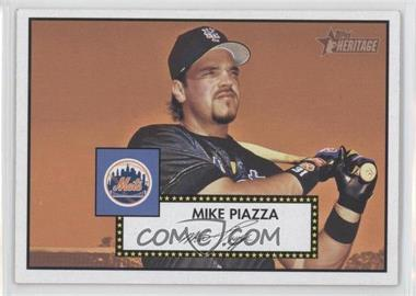 2001 Topps Heritage - [Base] #405 - Mike Piazza