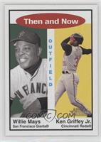Willie Mays, Ken Griffey Jr.