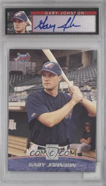 2001 Topps Reserve - [Base] - Graded Autographed Rookie #101 - Gary Johnson /1500 [PSA 8]