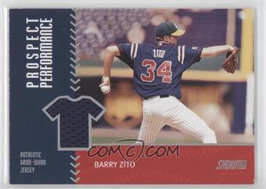 2001 Topps Stadium Club - Prospect Performance Jersey #PRP20 - Barry Zito
