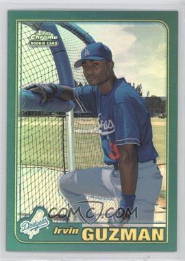 2001 Topps Traded & Rookies - [Base] - Chrome Retrofractor #T261 - Irvin Guzman