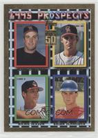 Reprint - Mike Sweeney, George Arias, Richie Sexson, Brian Schneider /2001