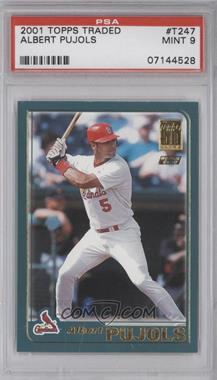 2001 Topps Traded & Rookies - [Base] #T247 - Albert Pujols [PSA9]