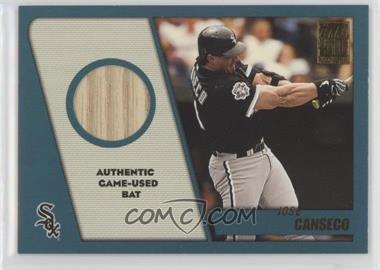 2001 Topps Traded & Rookies - Relics #TTR-JC - Jose Canseco