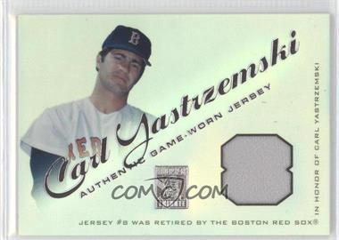 2001 Topps Tribute - Retired Jerseys #RJCYA - Carl Yastrzemski