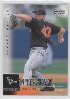 2001 Upper Deck - [Base] - UD Exclusives #94 - Sidney Ponson /100