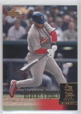 2001 Upper Deck - [Base] #295 - Albert Pujols