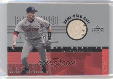 2001 Upper Deck - Game-Used Ball #B-NG - Nomar Garciaparra