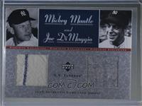 Mickey Mantle, Joe DiMaggio #5/50