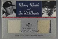 Mickey Mantle, Joe DiMaggio /50
