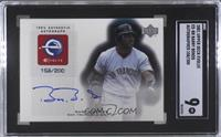 Barry Bonds /200 [SGC 9 MINT]