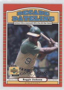 2001 Upper Deck Decade 1970's - [Base] #113 - Reggie Jackson