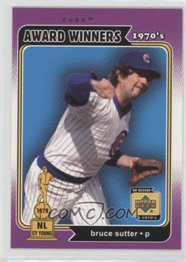2001 Upper Deck Decade 1970's - [Base] #169 - Bruce Sutter
