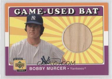 2001 Upper Deck Decade 1970's - Game-Used Bats #B-BOM - Bobby Murcer