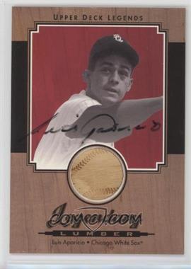 2001 Upper Deck Legends - Legendary Lumber - Signatures [Autographed] #SL-LA - Luis Aparicio