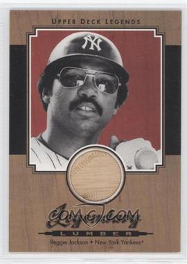 2001 Upper Deck Legends - Legendary Lumber #L-RJA - Reggie Jackson