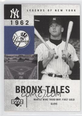 2001 Upper Deck Legends of New York - [Base] #133 - Mickey Mantle