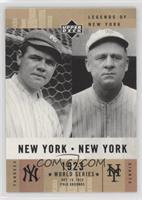 Babe Ruth, John McGraw