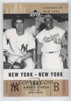 Joe DiMaggio, Jackie Robinson