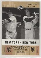 Mickey Mantle, Bobby Thomson [EX to NM]